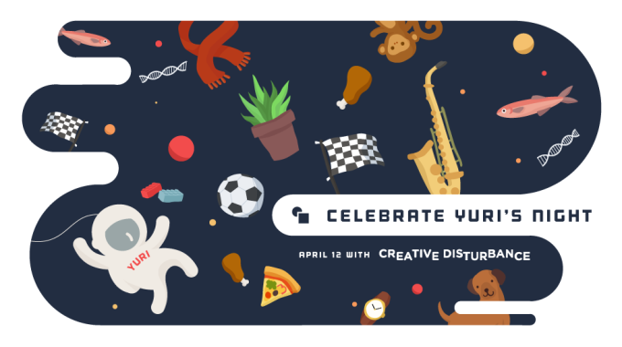 Celebrate Yuri's Night, April 13